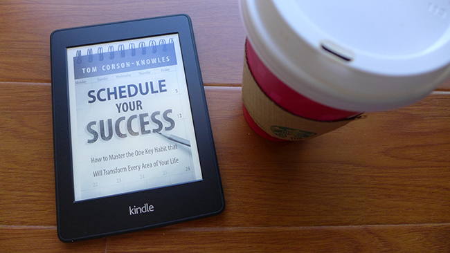 Kindle Paperwhite and Coffee