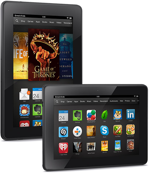 Kindle Fire HDX 7 color eReader review