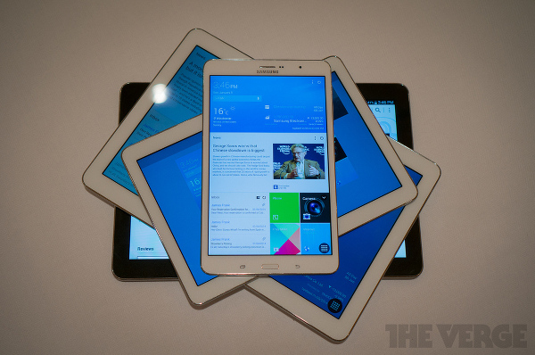 CES 2014: Samsung Galaxy Tab Pro and Note Pro