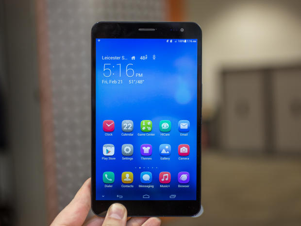 Huawei MediaPad X1 Phablet Review