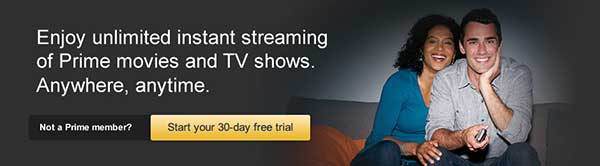 Amazon Prime Instant Video Benefit