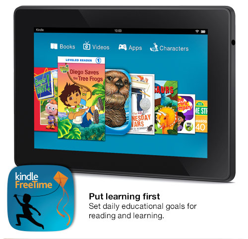 best kindle for kids with Kindle FreeTime