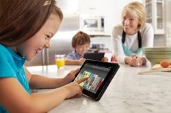 kids enjoy kindle tablet