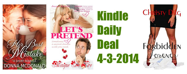 Kindle Daily Deal 4-3-2014