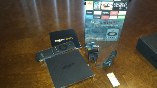 Whats in the Fire TV box?