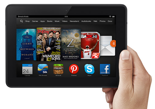 Kindle Fire HDX 7 Best Tablet Experience