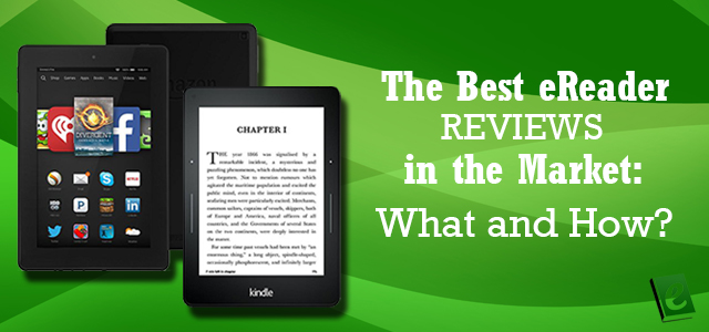 best ereader reviews in the market