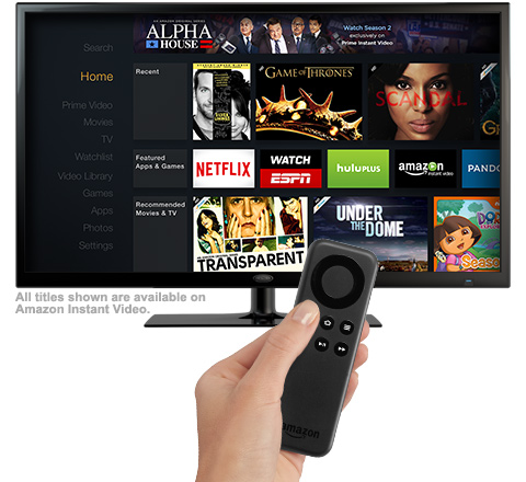 Amazon Instant Video with TV Stick