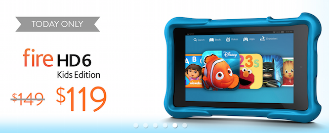 Fire HD 6 Kids Edition Back to School Sale