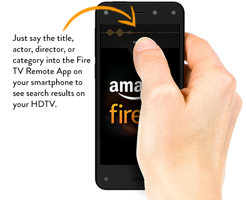 Fire TV Remote App does Voice Search