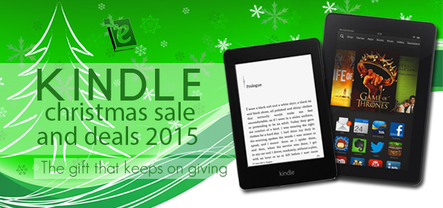 Kindle Christmas and New Year Sale