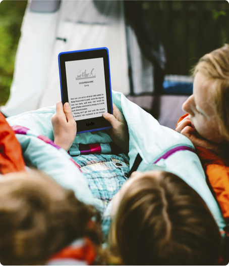 Kids Enjoy Reading on Kindle