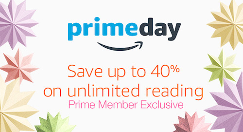 kindle unlimited prime day