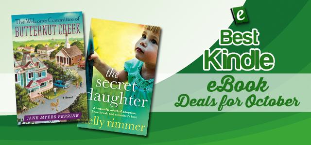 Best Kindle eBook Deals for October