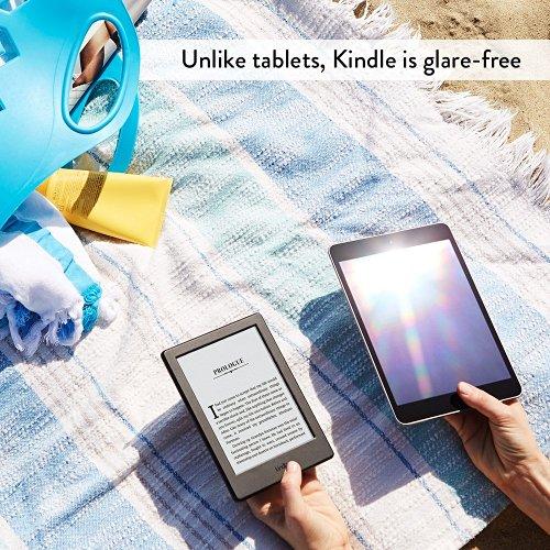 Kindle is glare-free