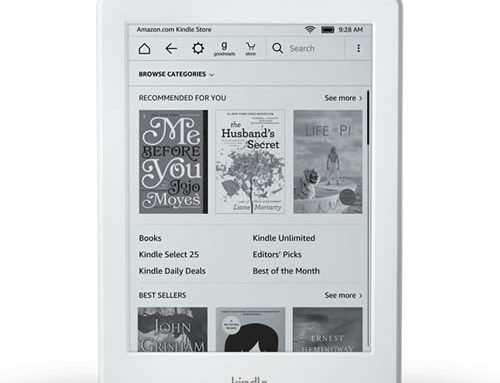 All New Kindle E-reader from Amazon (2017): Most Affordable eBook Reader
